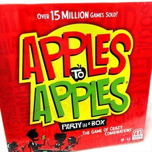 2017 Apples to Apples Party In A Box Game  NWT